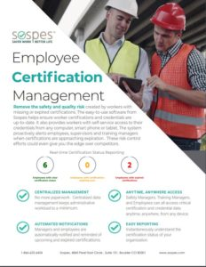Cert Management Brochure