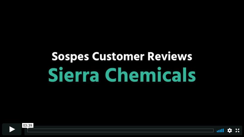 Sierra Chemicals Testimonial